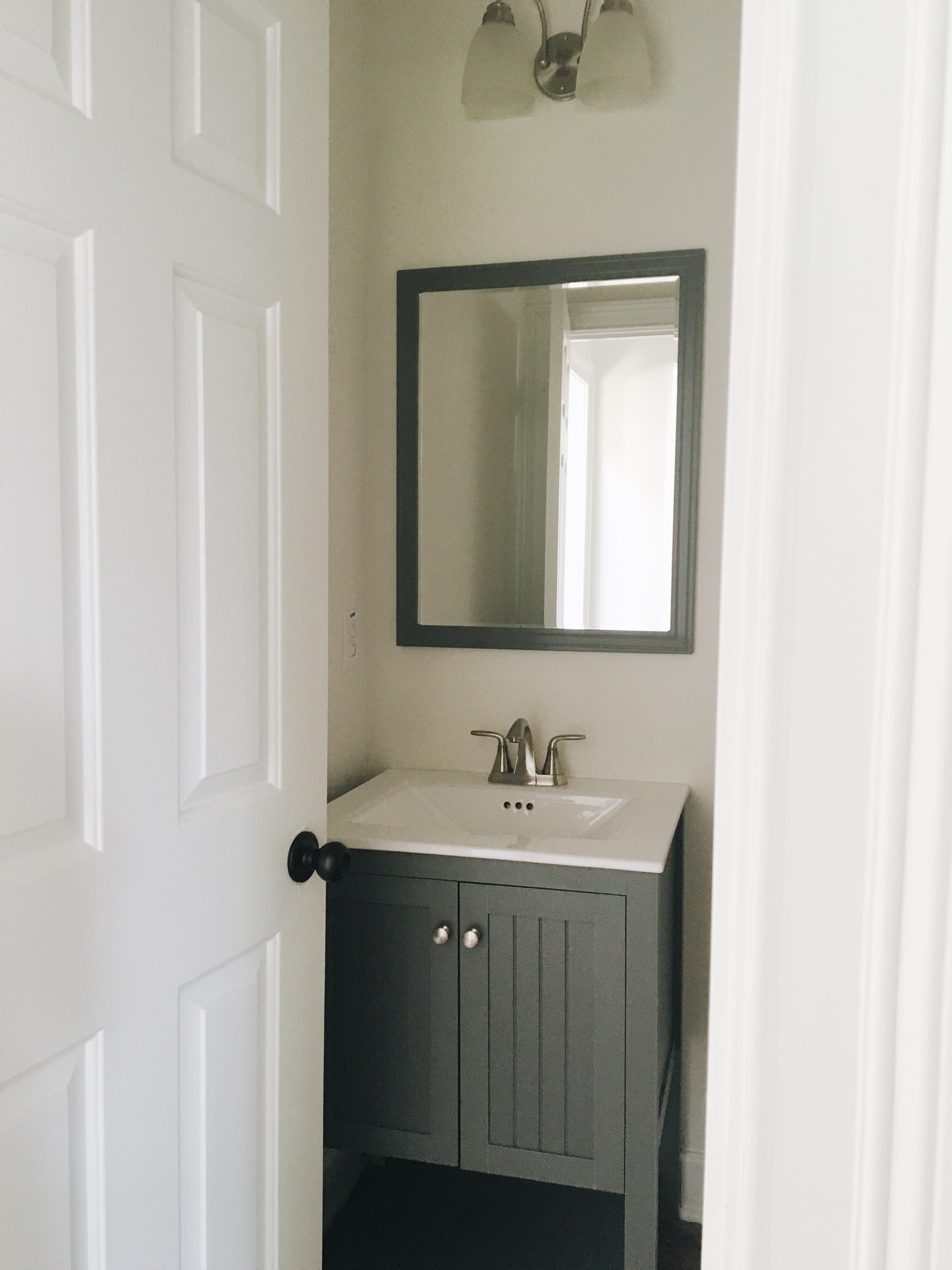 Powder Room Makeover powder room makeover - garvinandco